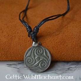 Triskelion of pewter