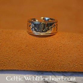 Rune ring England large