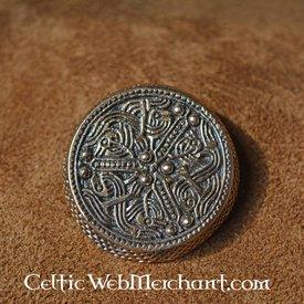 Round Gotland brooch