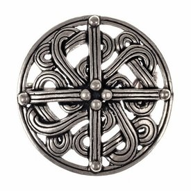 10th century Viking brooch, silvered