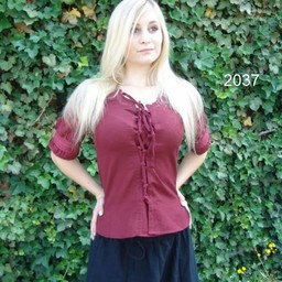 Blouse Claudia red
