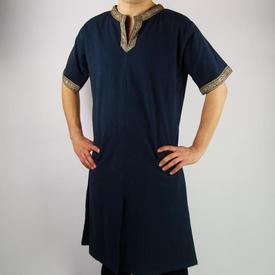 Leonardo Carbone Celtic tunic, short sleeves, blue
