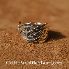 Celtic ring, bronze