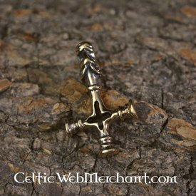 Bronze Icelandic Thors hammer