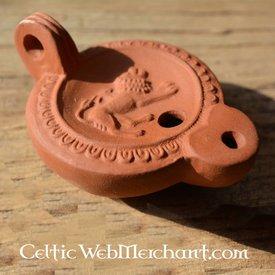 Roman oil lamp chimera