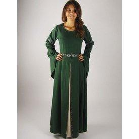 Dress Ivy green-white
