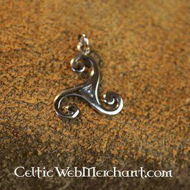 Small triskelion, bronze