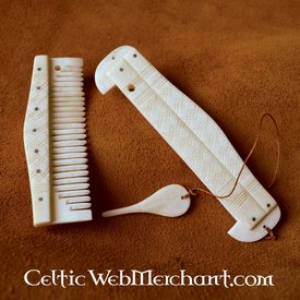Historical comb with holder