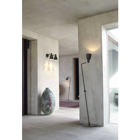 Nordlux Patton - Wandlamp - Zwart