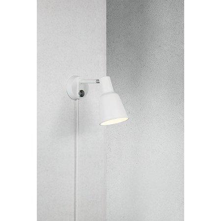 Nordlux Patton - Wandlamp - Wit