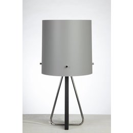 Senzz Tafellamp - ZWART-Licht Grijs