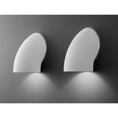 Martinelli Luce Wall Lamp - Gomito - White