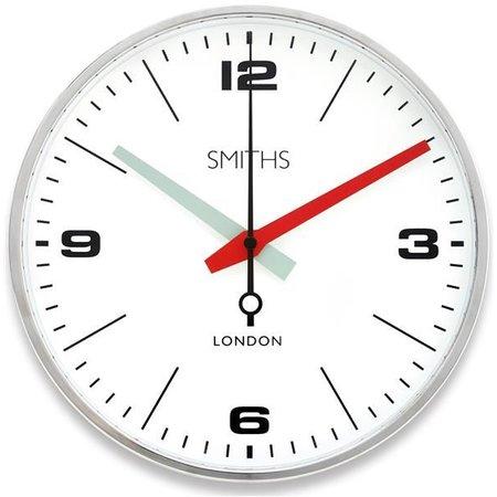 Smiths Station clock - Chrome