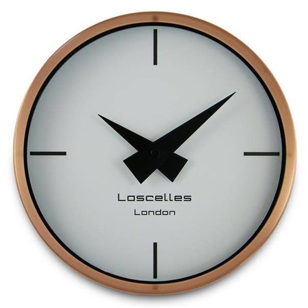 Lacelles Kitchen clock - Copper