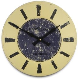 Lacelles Kitchen clock - Blue