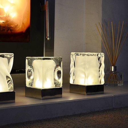 Insight Dimple Oplaadbare lampen set