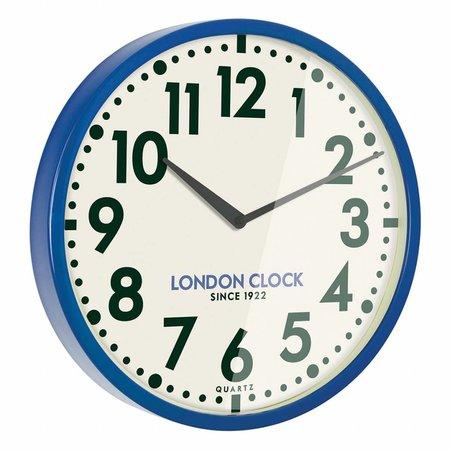 London clock Blue Metal Wall Clock