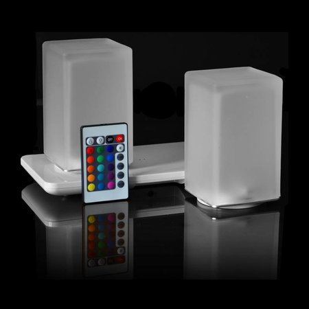 Insight Square chargeable lamp set