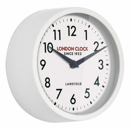 London clock Schoolklok -  Horwich - wit