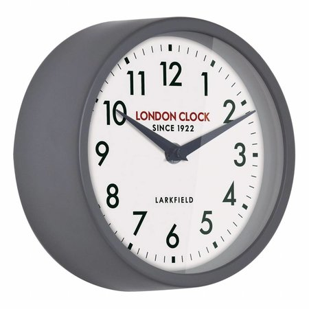 London clock Schoolklok -  Horwich - grijs
