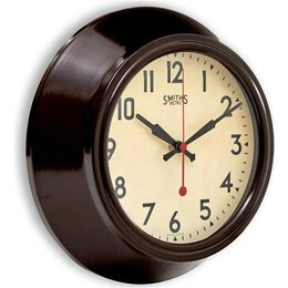 Smiths Wall clock - Brown
