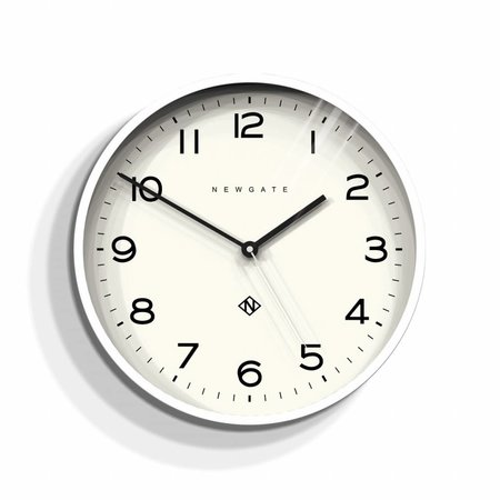 Newgate ECHO number three - Wall Clock - White