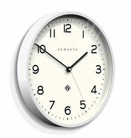 Newgate ECHO number three - Wall Clock - White