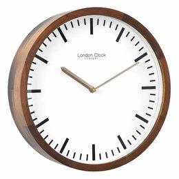 London clock Wandklok - Arlo - Hout