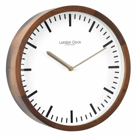 London clock Wandklok - Arlo - Hout