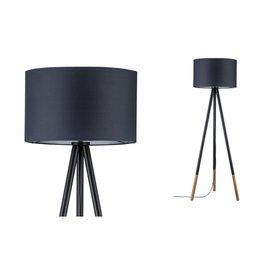 Paulmann Neordic-Rurik-staande lamp-Grey-Wood