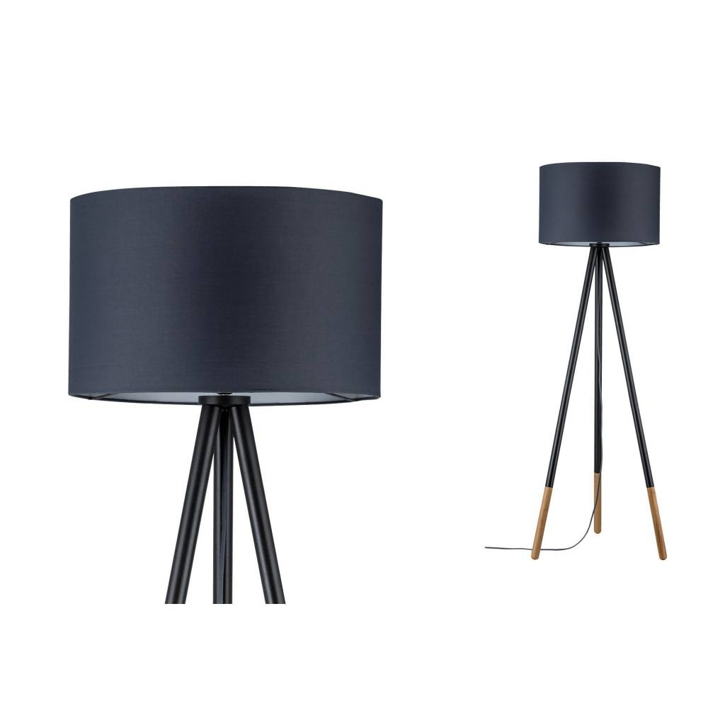 Staande Design Lamp.Neordic Rurik Staande Lamp Grey Wood Duurk