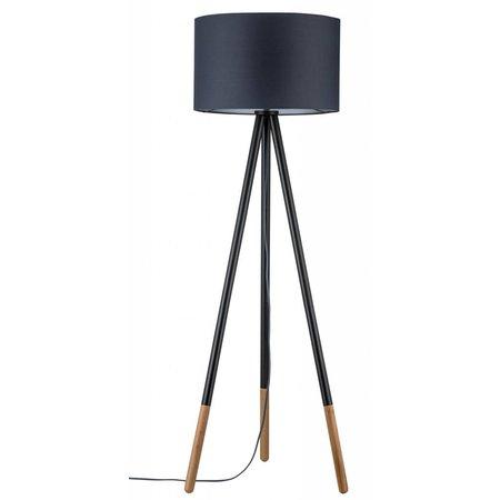Paulmann Neordic-Rurik-staande lamp-Grijs-hout