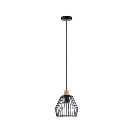 Paulmann Cameo-hanglamp-zwart-Hout