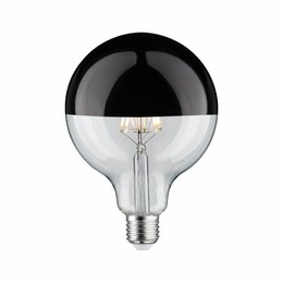 Paulmann LED Globe 95 5W E27 230V Mirror bulb Black 2700K  dimmable