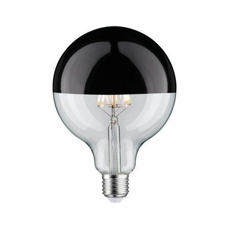 Paulmann LED Globe 95 5W E27 230V Mirror bulb Black 2700K  dimmable