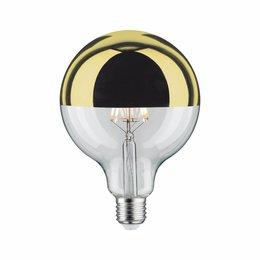 Paulmann LED Globe 125 5W E27 230V Mirror bulb goud 2700K  dimmable