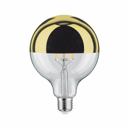 Paulmann LED Globe 125 5W E27 230V kopspiegel goud 2700K  dimbaar