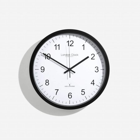 London clock Clock Station - RC SIMPLE - black
