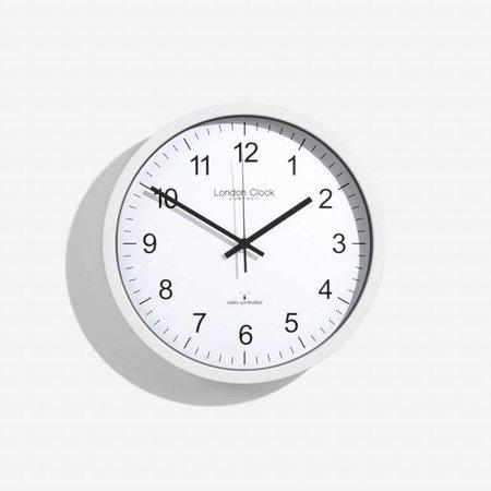 London clock Schoolklok -  RC SIMPLE - wit