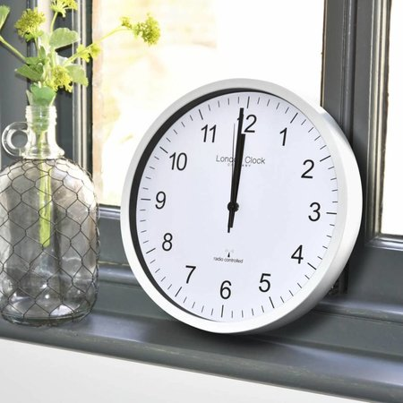 London clock Clock Station - RC SIMPLE - white