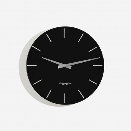 London clock Clock Thunder- Black