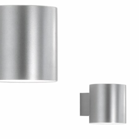 Martinelli Luce Tube - Wandlamp - GRIJS -10 cm