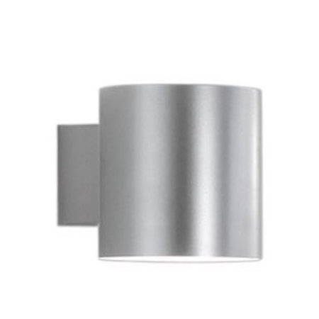 Martinelli Luce Wall Lamp - Tube - GREY- 10 cm