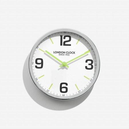 London clock Clock Station Zest Chrome