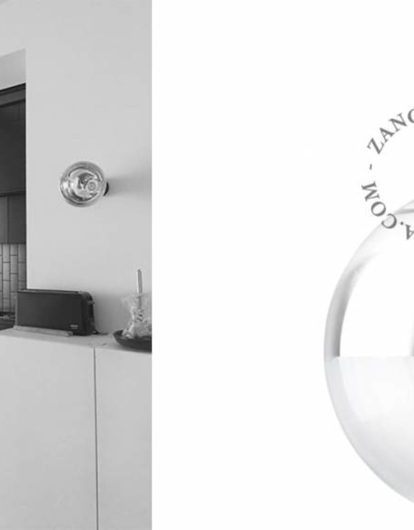 Zangra Ceiling lamp - black porcelain