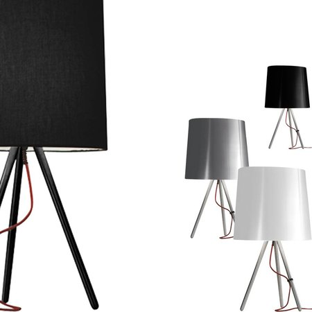 Martinelli Luce Table Lamp EVA - ∅ 20 H 38 - BLACK