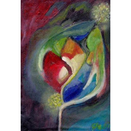 Schilderij A4 - nr - 21