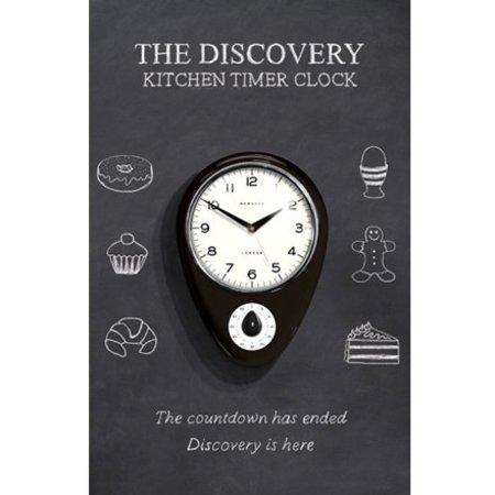 Newgate Discovery Wall Clock