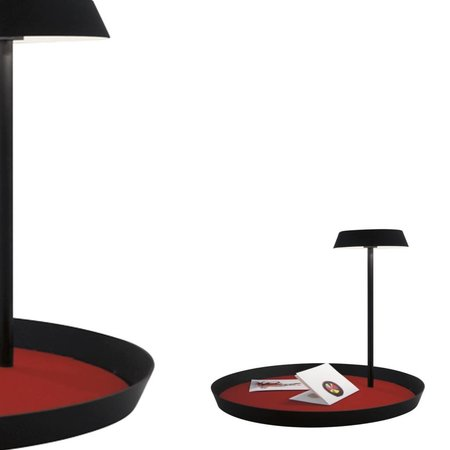 Martinelli Luce PLATO - Tafellamp - Zwart