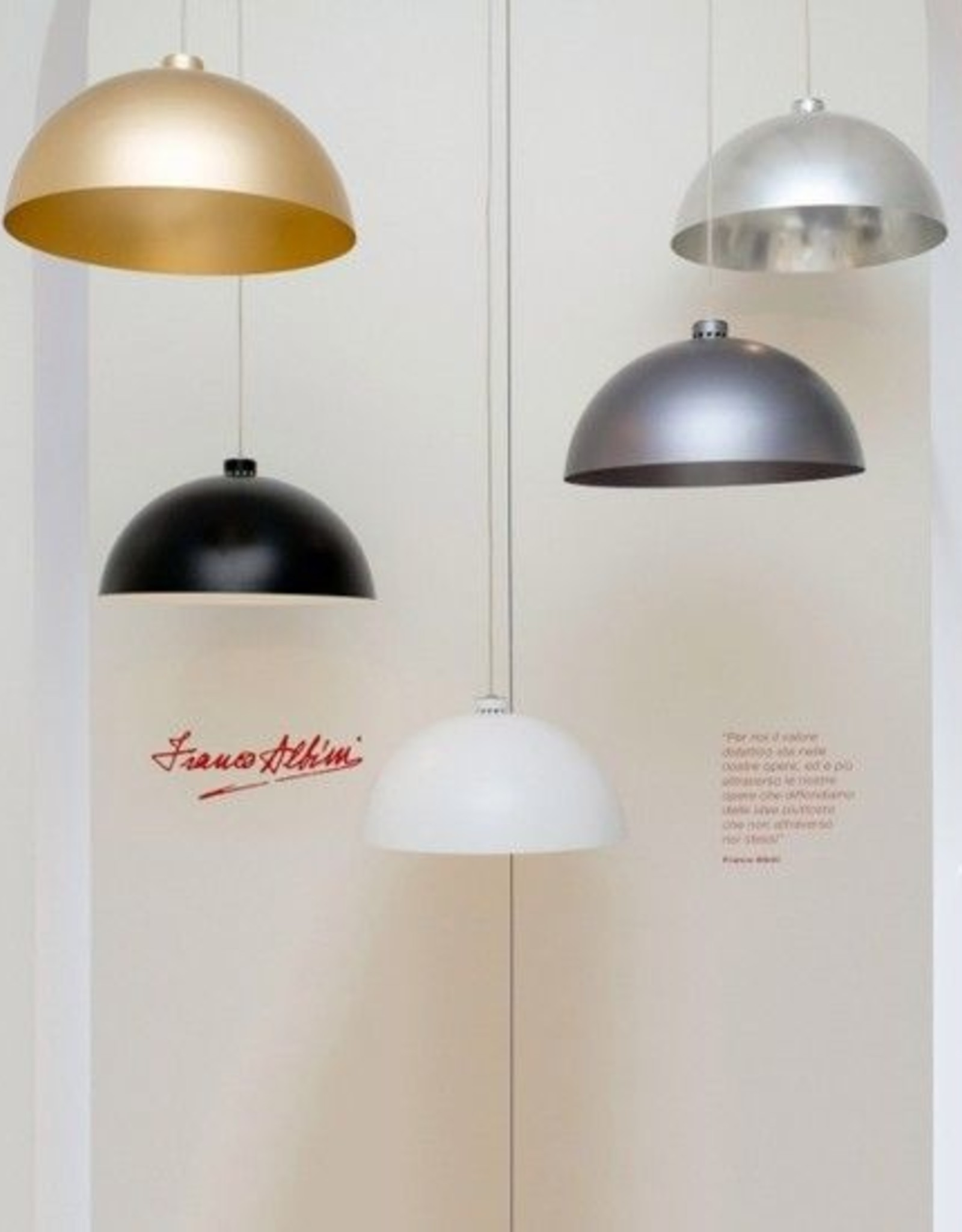 Nemo Coupole - Hanglamp - Zwart